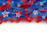 United States Patriotic background. An abstract illustration of United States Patriotic background Stock Images