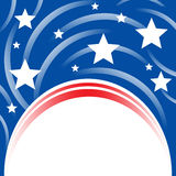United States Patriotic Background Stock Images