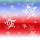 United States Patriotic Background Royalty Free Stock Images
