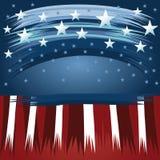 United States Patriotic background design Stock Photography