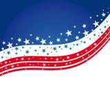 United States Patriotic background design Stock Photo