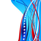 United States Patriotic background design Royalty Free Stock Photography