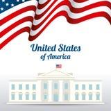 United states patriotism design. Stock Photos
