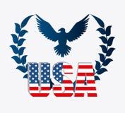 United states patriotism design. Royalty Free Stock Photo