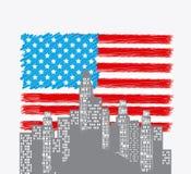 United states patriotism design. Stock Photo