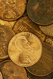 2016 United States penny. On coins Stock Photography