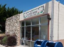 United States Post Office. Rural California postal office, Los Alamos, California Stock Image