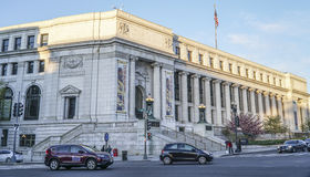 United States Post Office, Dorothy Height Branch in Washington - WASHINGTON DC - COLUMBIA - APRIL 7, 2017. United States Post Office, Dorothy Height Branch in Royalty Free Stock Image