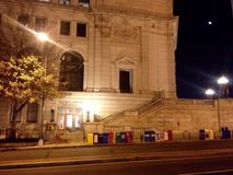 United States Post Office National Capitol Station. Early morning outside the U.S. Post Office, National Capital Stock Photography