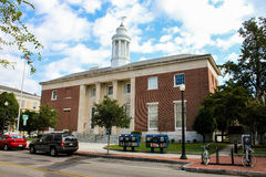 United States Post Office, Wilmington, NC. Royalty Free Stock Photos