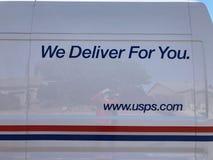 USPS Logo. stock photo