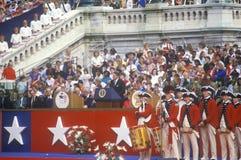 United States President Ronald Reagan. At the Bicentennial celebration, Washington D.C Royalty Free Stock Photography