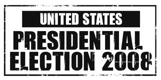 United states presidential election Royalty Free Stock Images