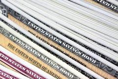 United States Savings Bonds Royalty Free Stock Images