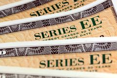 United States Savings Bonds - Series EE Royalty Free Stock Images