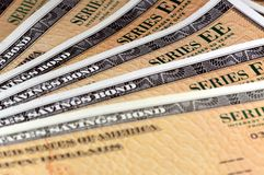United States Savings Bonds - Series EE Stock Photo