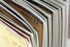 United States Savings Bonds - Series EE and Series I Stock Photos