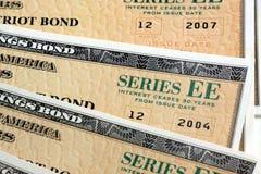 United States Savings Bonds Royalty Free Stock Photography