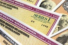 United States Savings Bonds Royalty Free Stock Photos