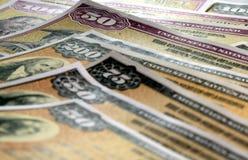 United States Savings Bonds Stock Image