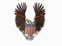 United states seal, Out of many, one. Royalty Free Stock Images