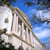 United States Senate. Washington DC, capital city of the United States. Government building - Russell Senate Office Building Stock Images