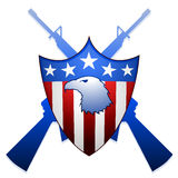 United States shield Royalty Free Stock Images