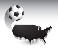 United states soccer ball Stock Photos