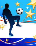 United States Soccer Player Stock Photography