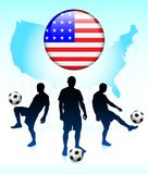 United States Soccer Team Stock Image
