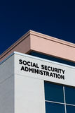 United States Social Security Office Stock Photos