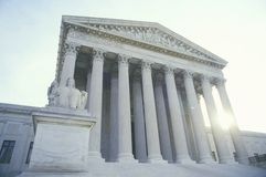 The United States Supreme Court. Building, Washington, D.C stock photography