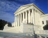 United States Supreme Court Royalty Free Stock Photography