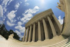 United States Supreme Court Stock Image