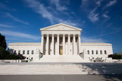 United States Supreme Court Building Stock Images
