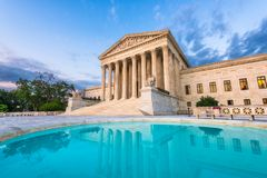 Free United States Supreme Court Building Stock Images - 122046354
