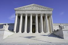 United States Supreme Court Building Stock Photos