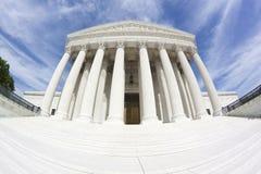 United States Supreme Court Building (fisheye) Stock Photography