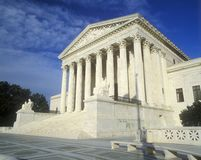 United States Supreme Court Building, Washington D.C. Royalty Free Stock Photo