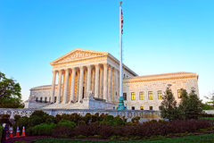 United States Supreme Court Building in Washington DC Stock Photos
