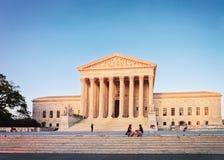 United States Supreme Court Building in Washington DC royalty free stock photos