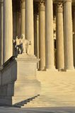 United States Supreme Court detail- Washington, DC Royalty Free Stock Image