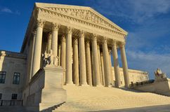 United States Supreme Court in Washington, DC Stock Image