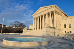 United States Supreme Court in Washington, DC royalty free stock photos