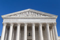 United States Supreme Court, Washington DC. This is the US Supreme Court building in Washington, DC Stock Photo