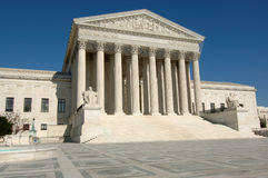 United States Supreme Court in Washington DC. United States Supreme Court in Washington, DC.  Temple of justice Stock Image