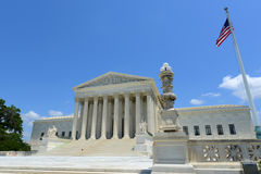 United States Supreme Court in Washington DC, USA Royalty Free Stock Photos