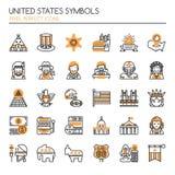 United States Symbols Stock Photos