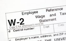 US Tax Forms. United States tax forms for the IRS stock images