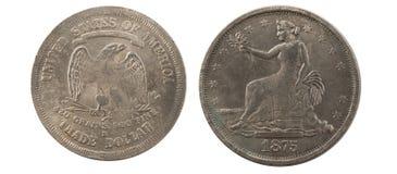 United states 1875 Royalty Free Stock Image